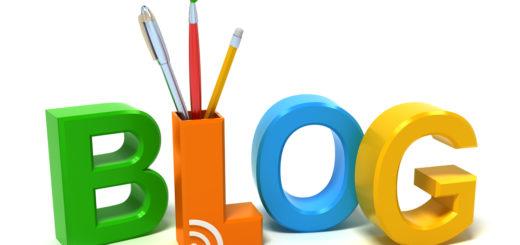 rappresentazione grafica della parola blog